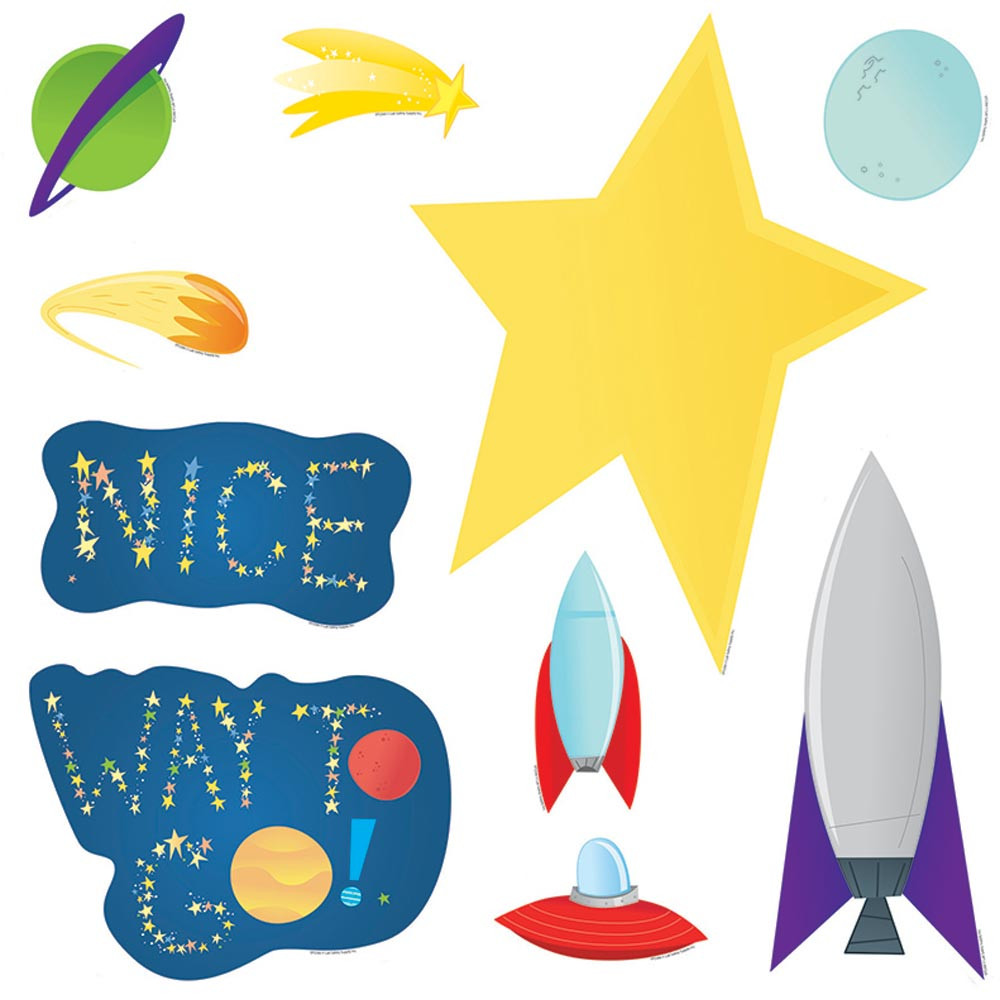 EP-2266 - Welcome To Our Space Bulletin Board Set in Science