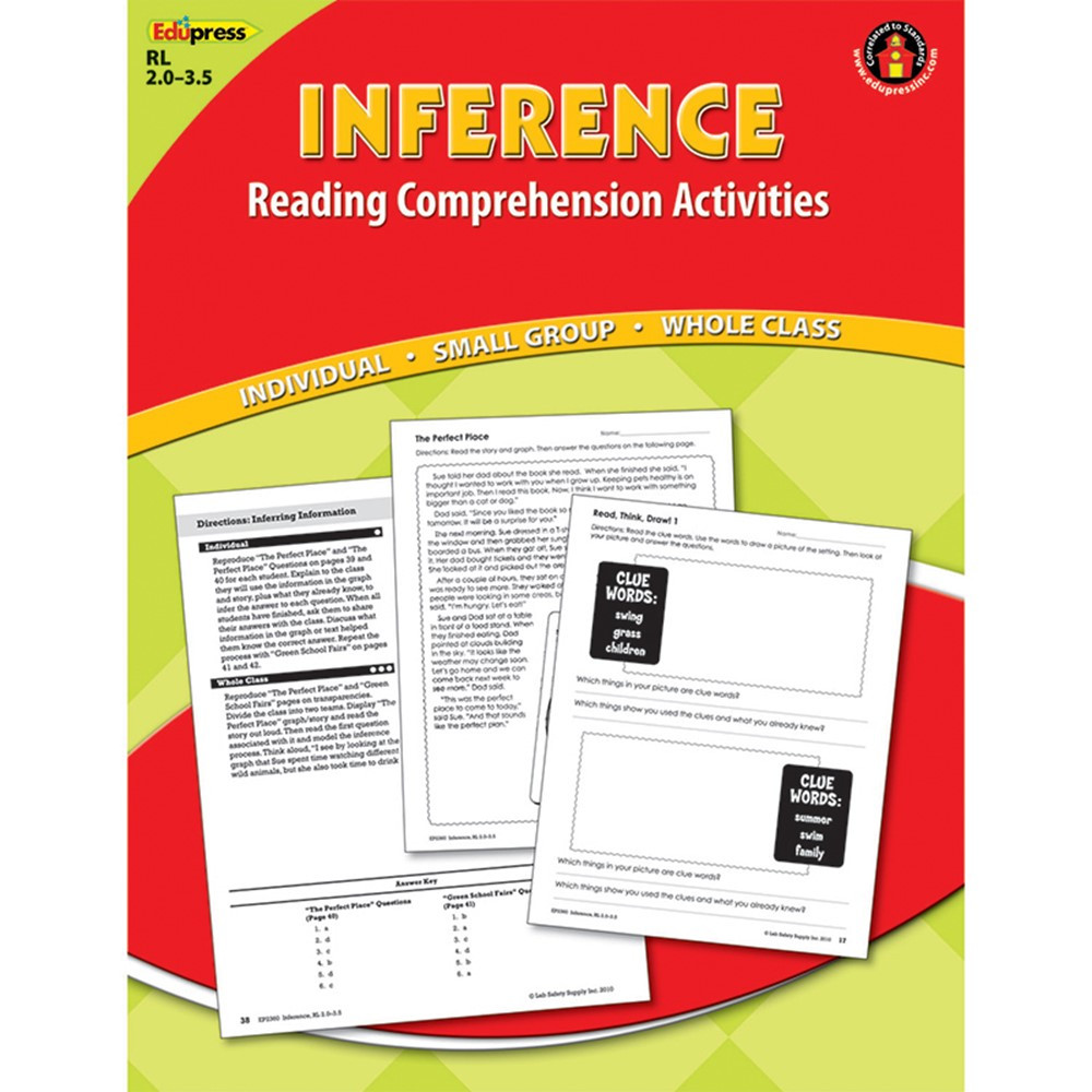 EP-2360 - Inference Comprehension Book Red Level in Comprehension