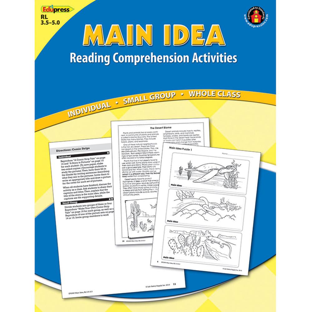 EP-2365 - Main Idea Comprehension Book Blue Level in Comprehension