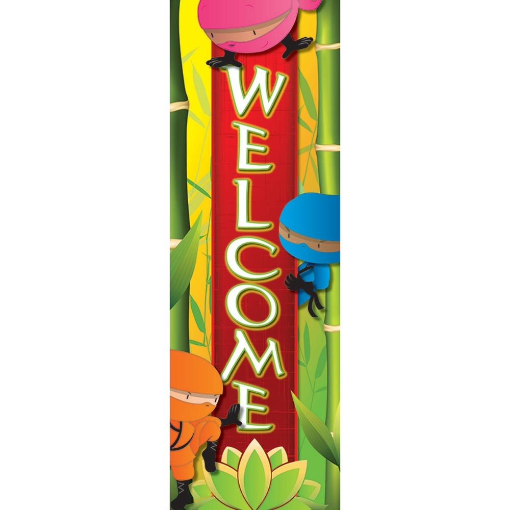 EP-2635 - Ninja Welcome Banner in Banners