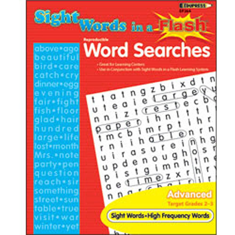 EP-264 - Sight Word Searches Advanced Gr 2-3 in Sight Words