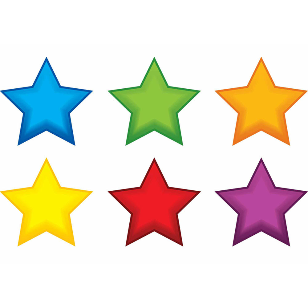 EP-2663 - Colorful Stars Mini Accents in Accents