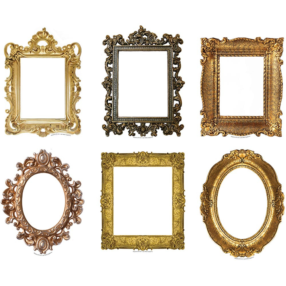 Fancy Frames Bulletin Board Set Accent - EP-3145 | Edupress ...
