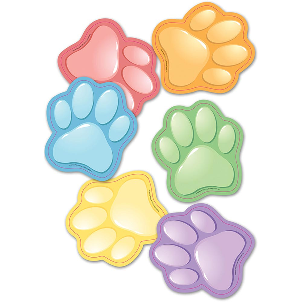 EP-3152 - Paw Prints Bulletin Board Set Accent in Accents