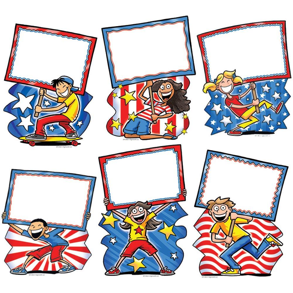 Patriotic Signs Accents Ep 3186 Edupress Classroom Decorations