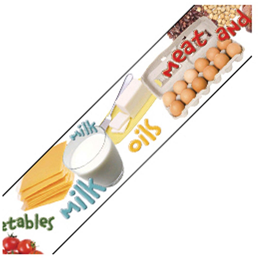 EP-3209 - Healthy Eating Photo Border in Border/trimmer