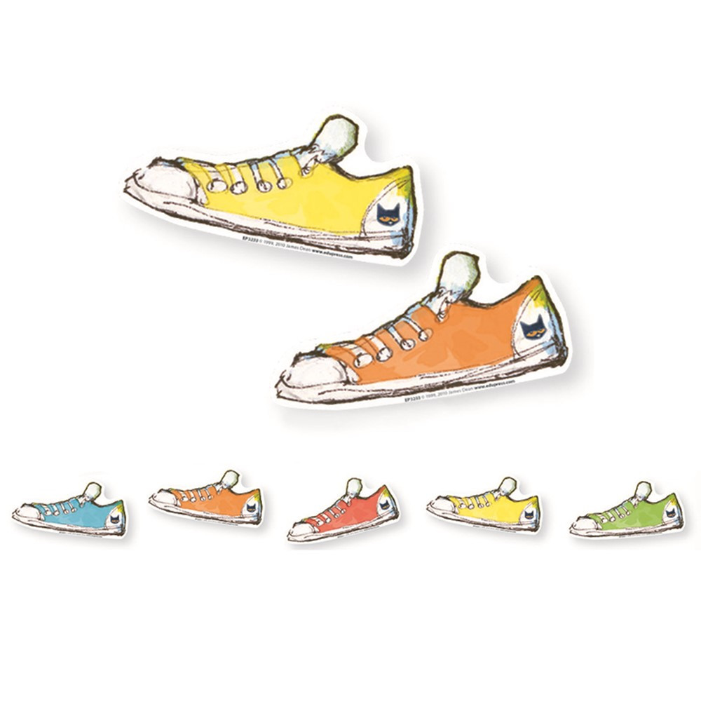 EP-3233R - Pete The Cat Groovy Shoes Accents Pack Of 36 in Accents