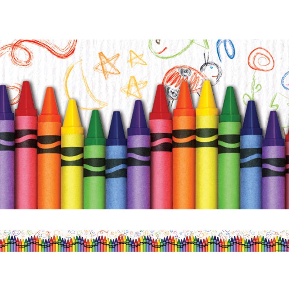 EP-3269 - Crayons Layered Border in Border/trimmer