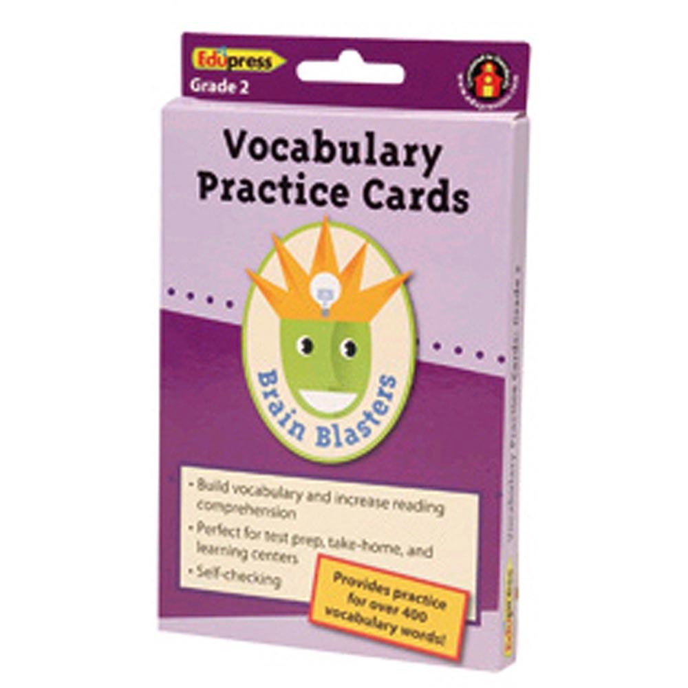 EP-3372 - Brain Blasters Vocabulary Practice Cards Gr 3 in Vocabulary Skills