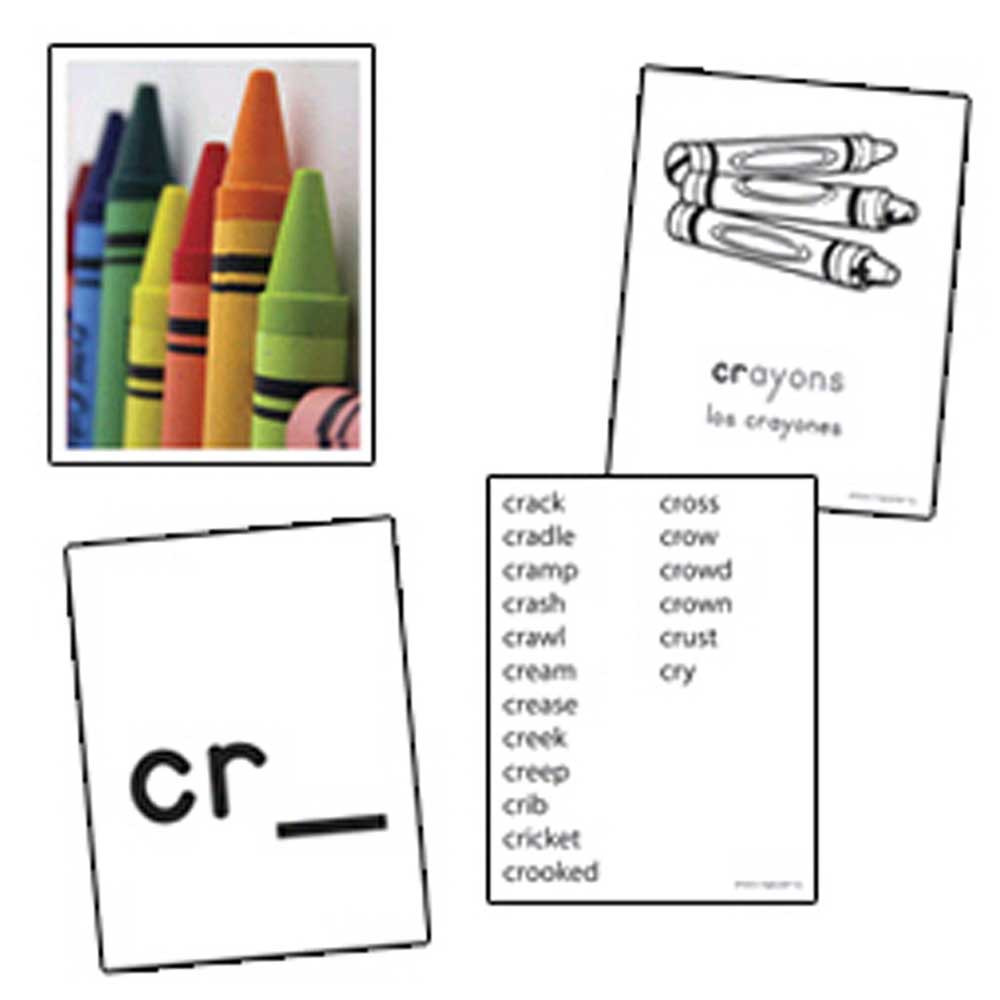 EP-3535 - Initial Consonant Blends Skill Cards in Phonics