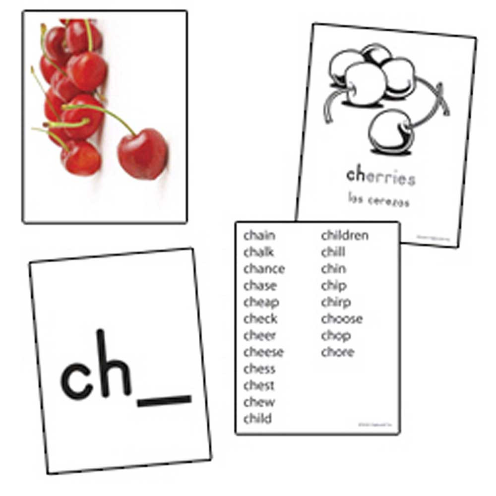 EP-3539 - Consonant Digraphs Skill Cards in Phonics
