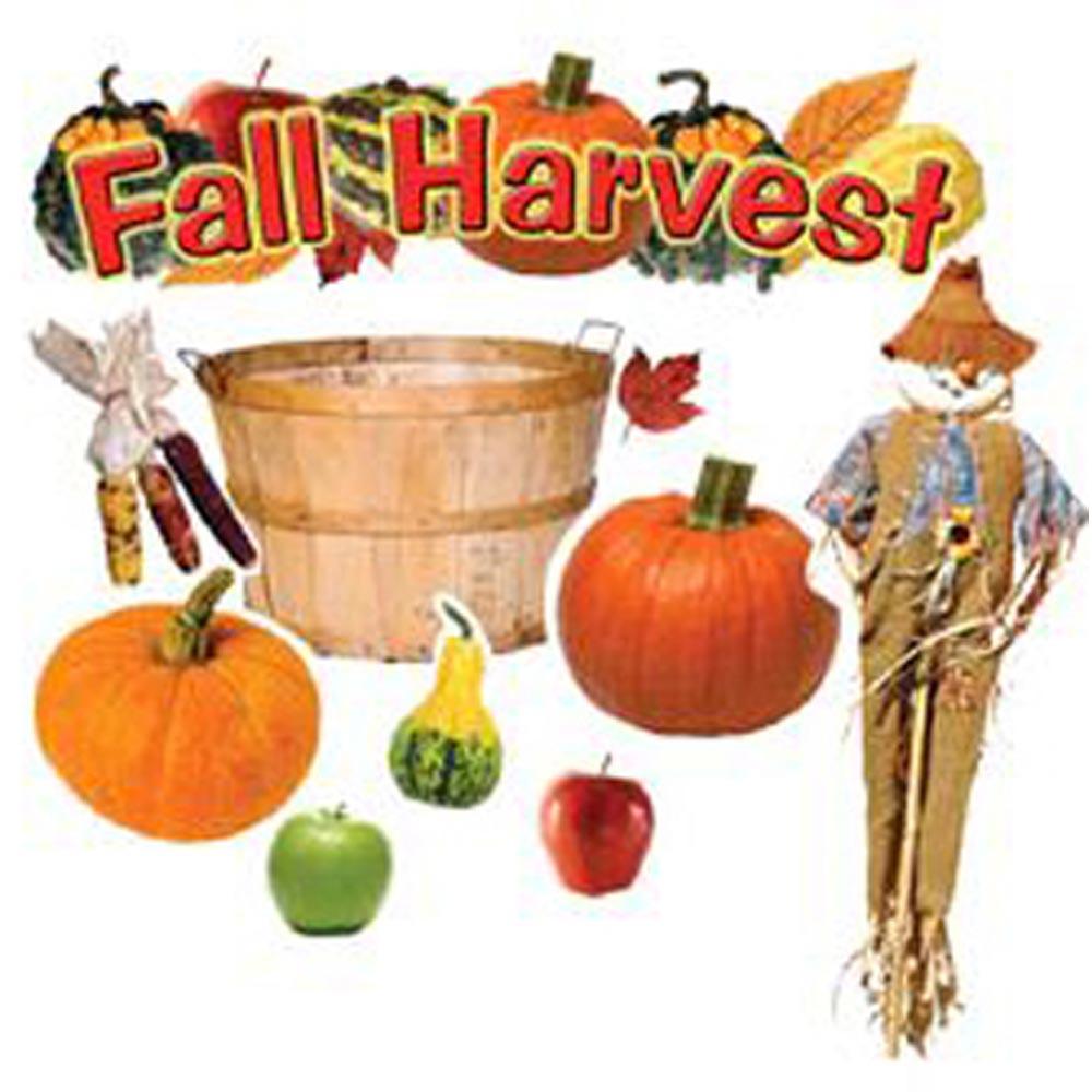 Fall Harvest Classroom Decorations ~ Fall harvest mini bulletin board set ep edupress