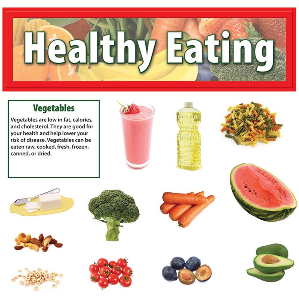 EP-3610 - Healthy Eating Mini Bulletin Board Set in Science