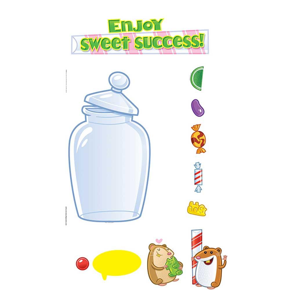 EP-3629 - Sweet Success Incentive Mini Bulletin Board Set in Motivational