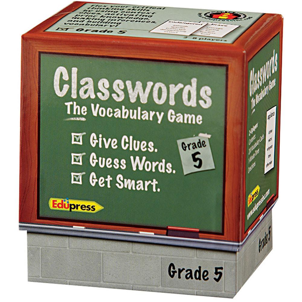 EP-3753 - Classwords Vocabulary Gr 5 in Vocabulary Skills
