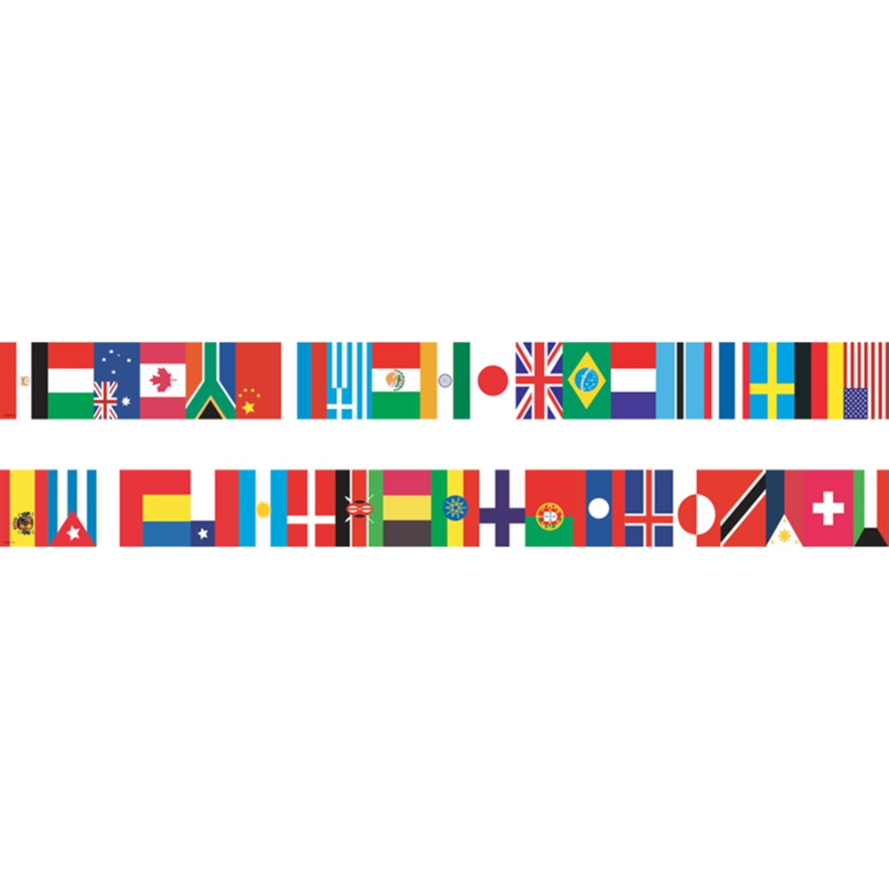 EP-595 - International Flags Spotlight Border in Border/trimmer
