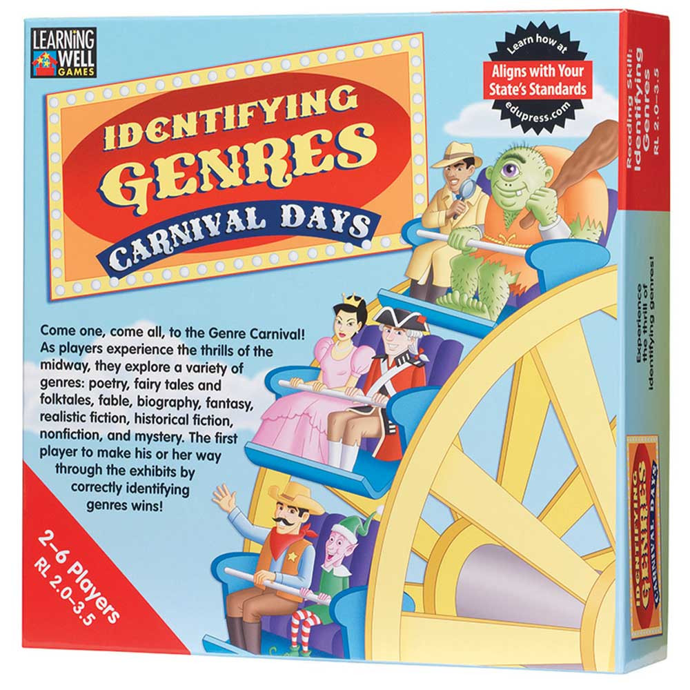 EP-LRN2013 - Identifying Genres Carnival Days Red Level 2.0-3.5 in Language Arts