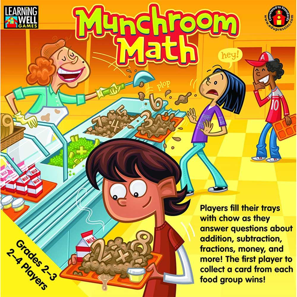 EP-LRN250 - Munchroom Math Gr 2-3 in Math