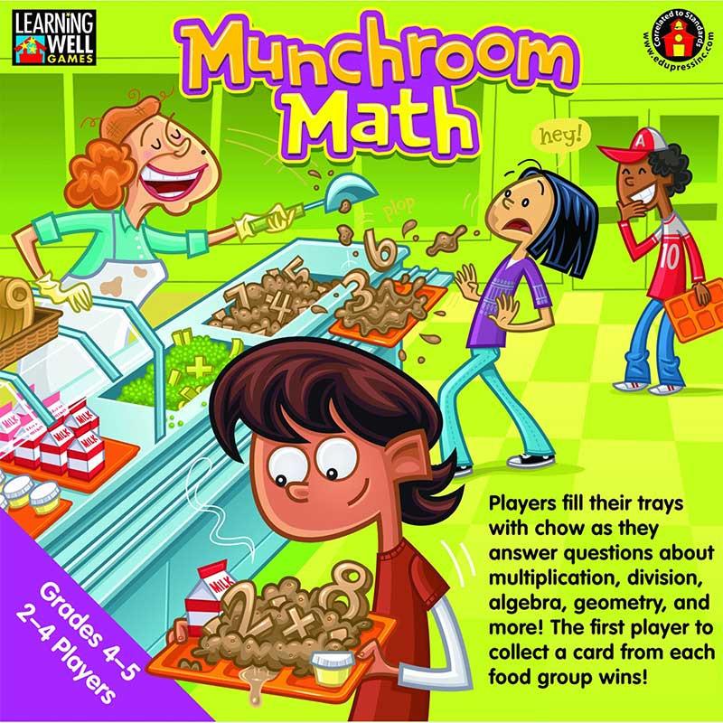 EP-LRN251 - Munchroom Math Gr 4-5 in Math