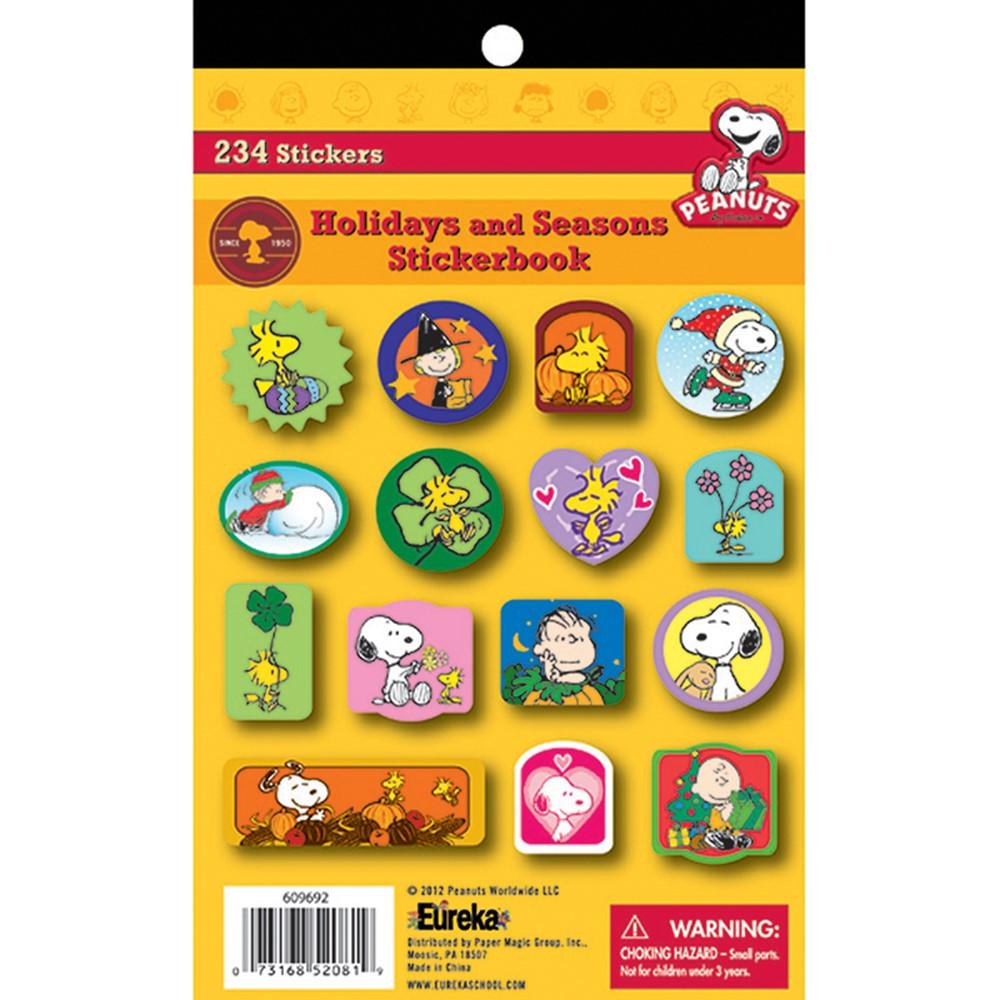 EU-609692 - Peanuts Holidays And Seasons Sticker Book in Holiday/seasonal