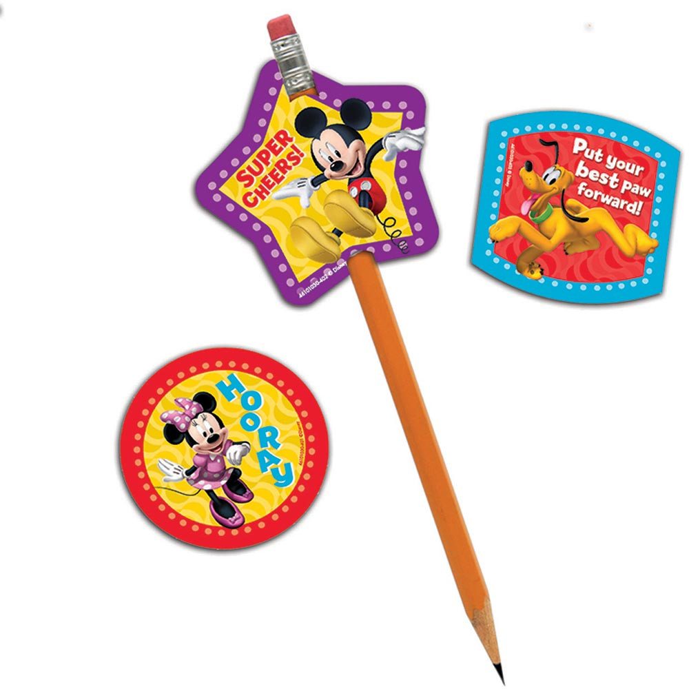 EU-610103 - Mickey Mouse Clubhouse Characters Lenticular Pencil Toppers in Pencils & Accessories