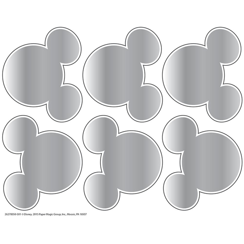 EU-627005 - Mickey Mouse Head Shape Scratch Off Stickers in Stickers