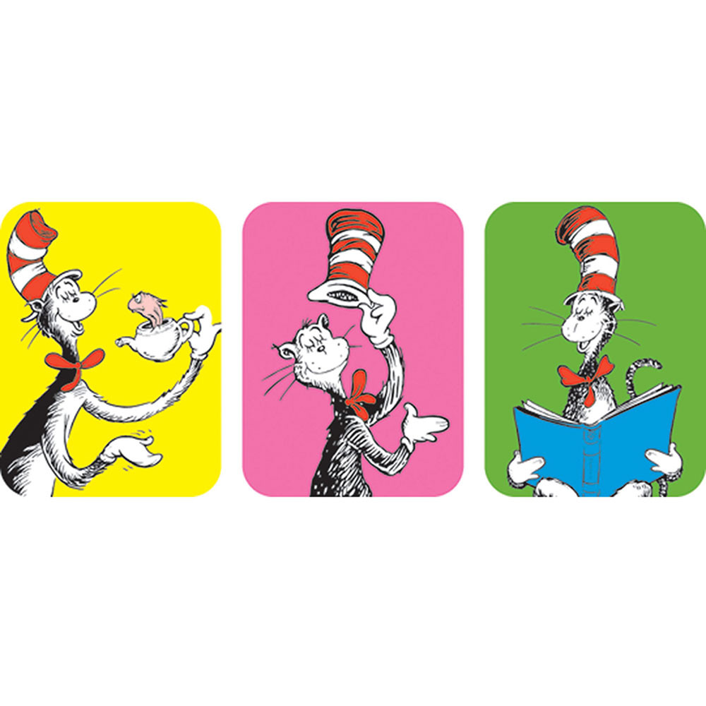 EU-650021 - Cat In The Hat Giant Stickers in Stickers