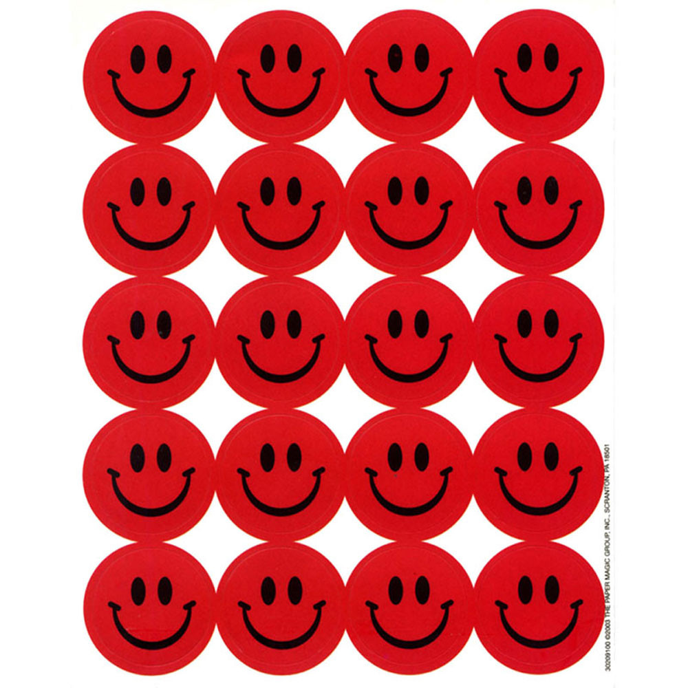EU-65091 - Stickers Scented Smiles 80/Pk Strawberry in Stickers