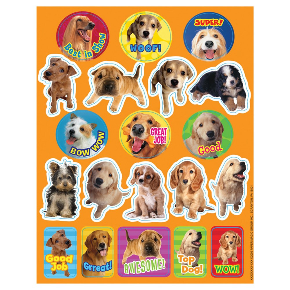 EU-655201 - Stickers Dog Motivational in Stickers