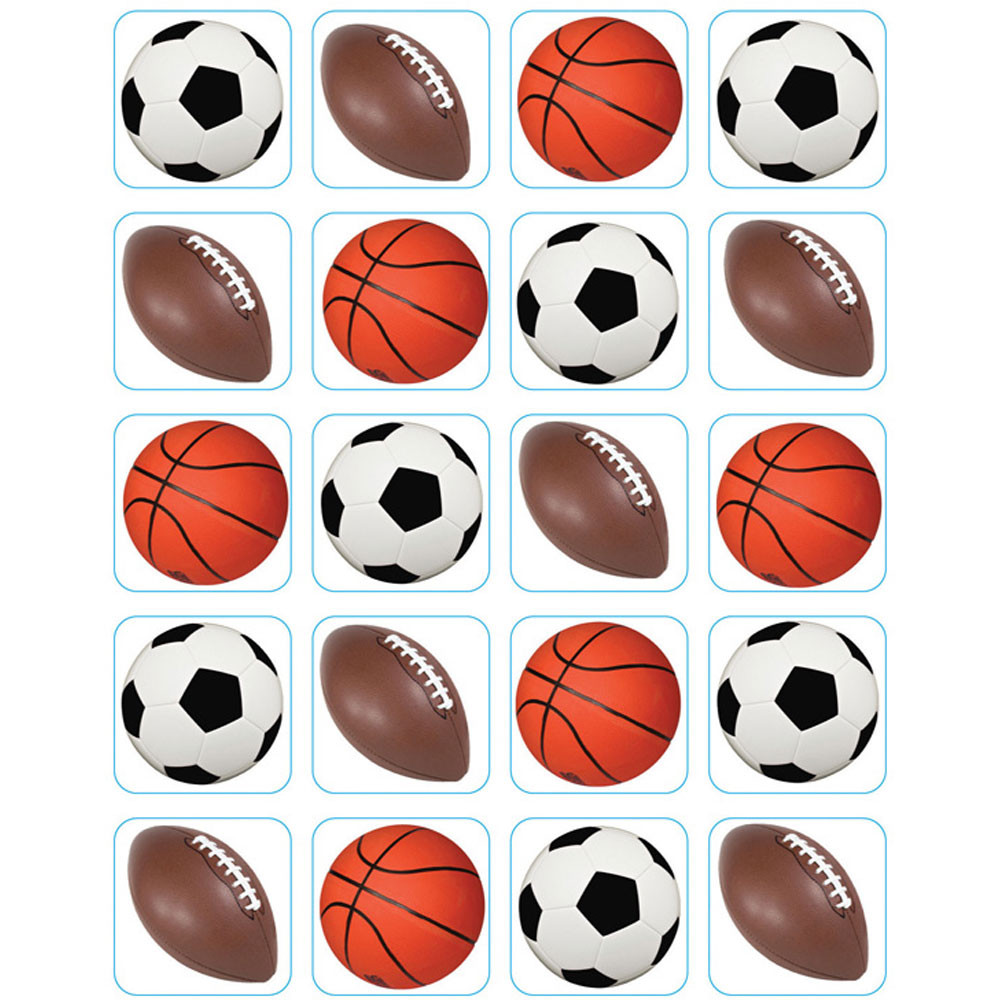EU-655209 - Mixed Sports Theme Stickers in Stickers
