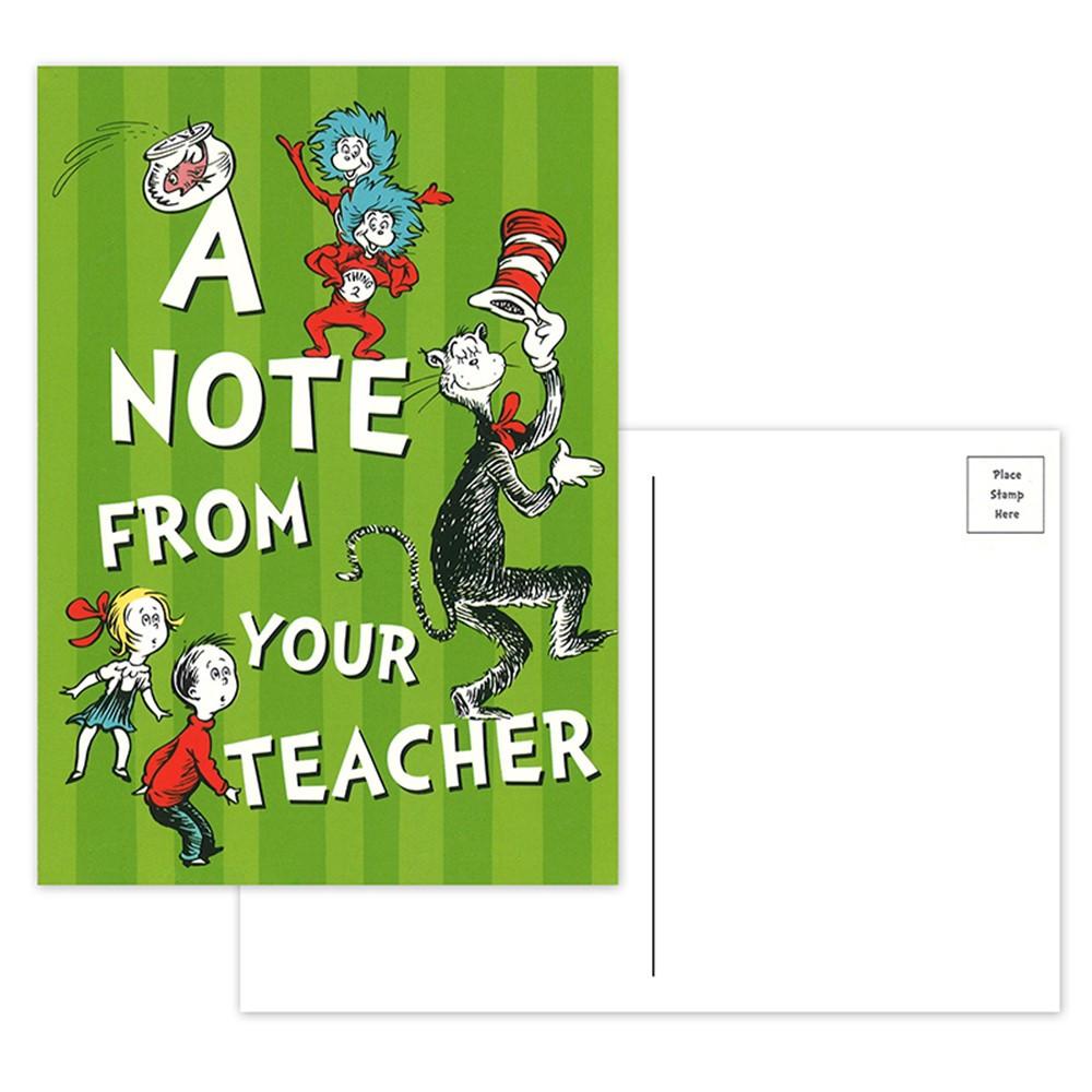 EU-831903 - Cat In The Hat Teacher Cards in Postcards & Pads