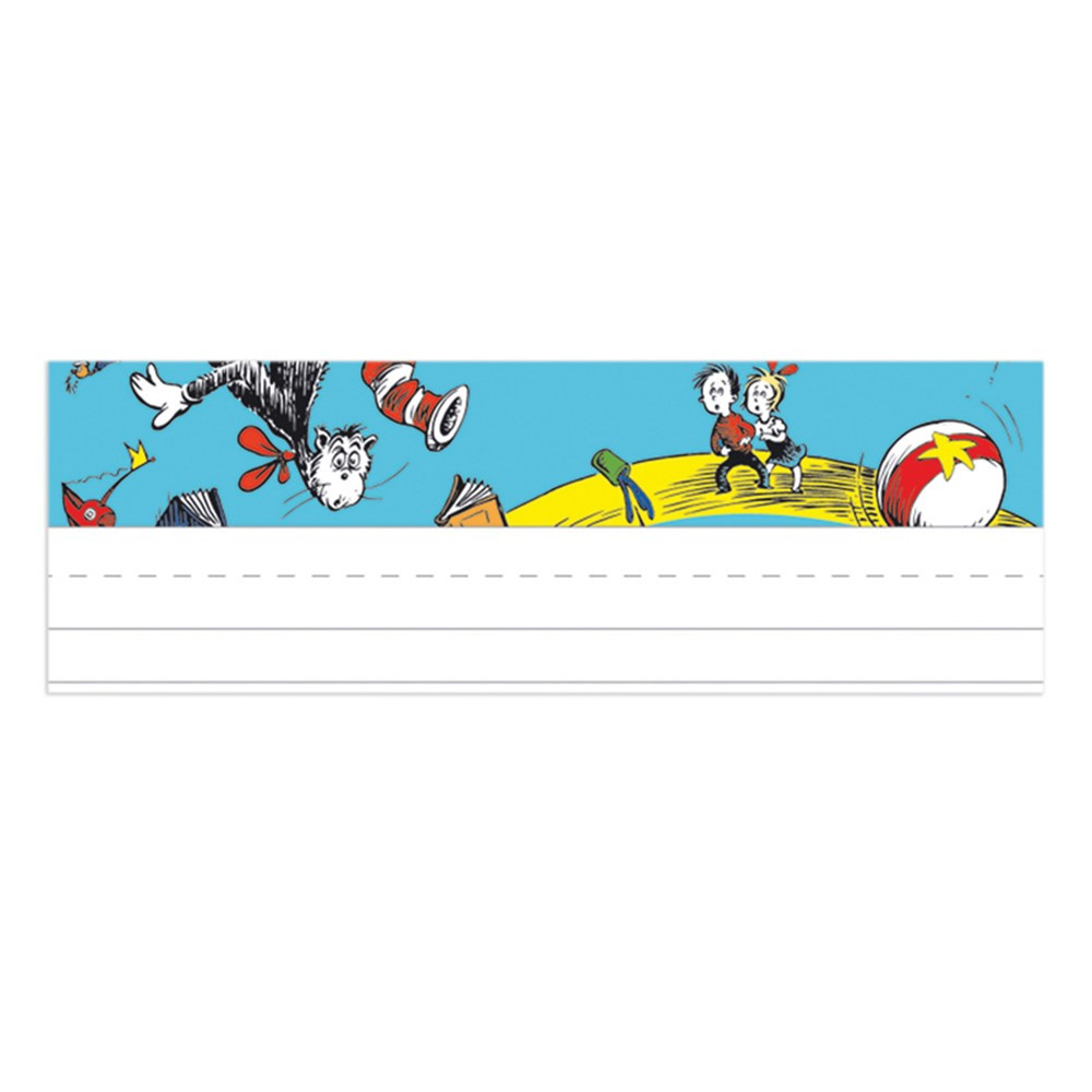 EU-833130 - Cat In The Hat Name Plates in Name Plates