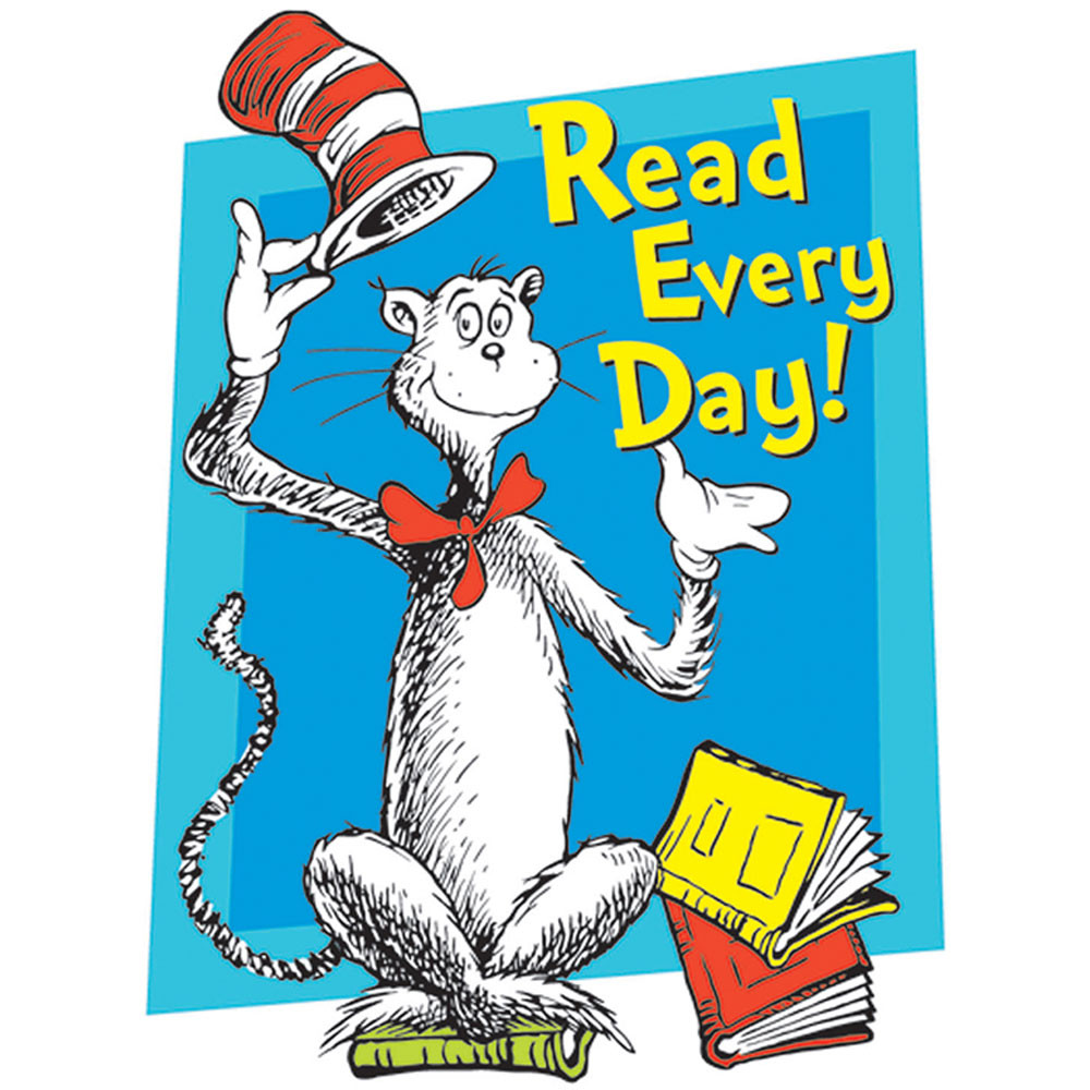 Image result for read every day clipart