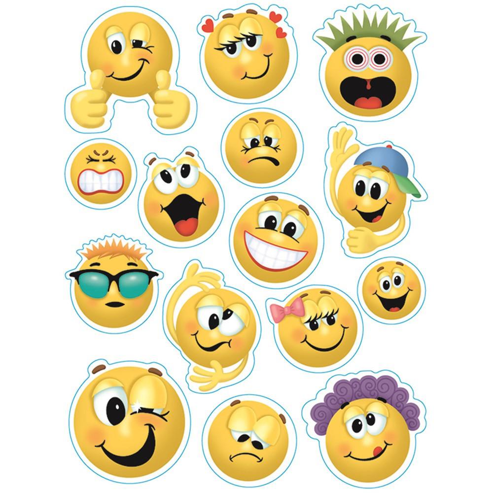 EU-836033 - Emoticons 12 X 17 Window Clings in Window Clings