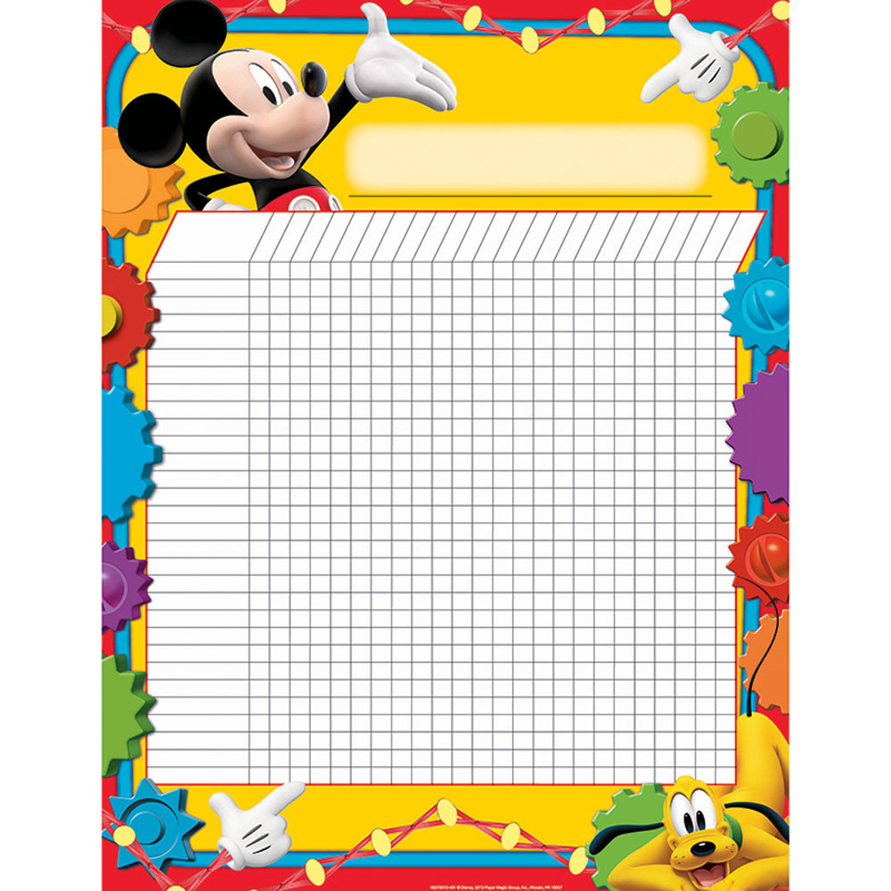 EU-837001 - Mickey Mouse Clubhouse Incentive Chart 17X22 Poster in Incentive Charts