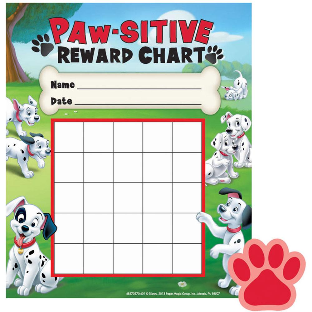 EU-837037 - 101 Dalmatians Paw-Sitive Mini Reward Chart Plus Stickers in Incentive Charts
