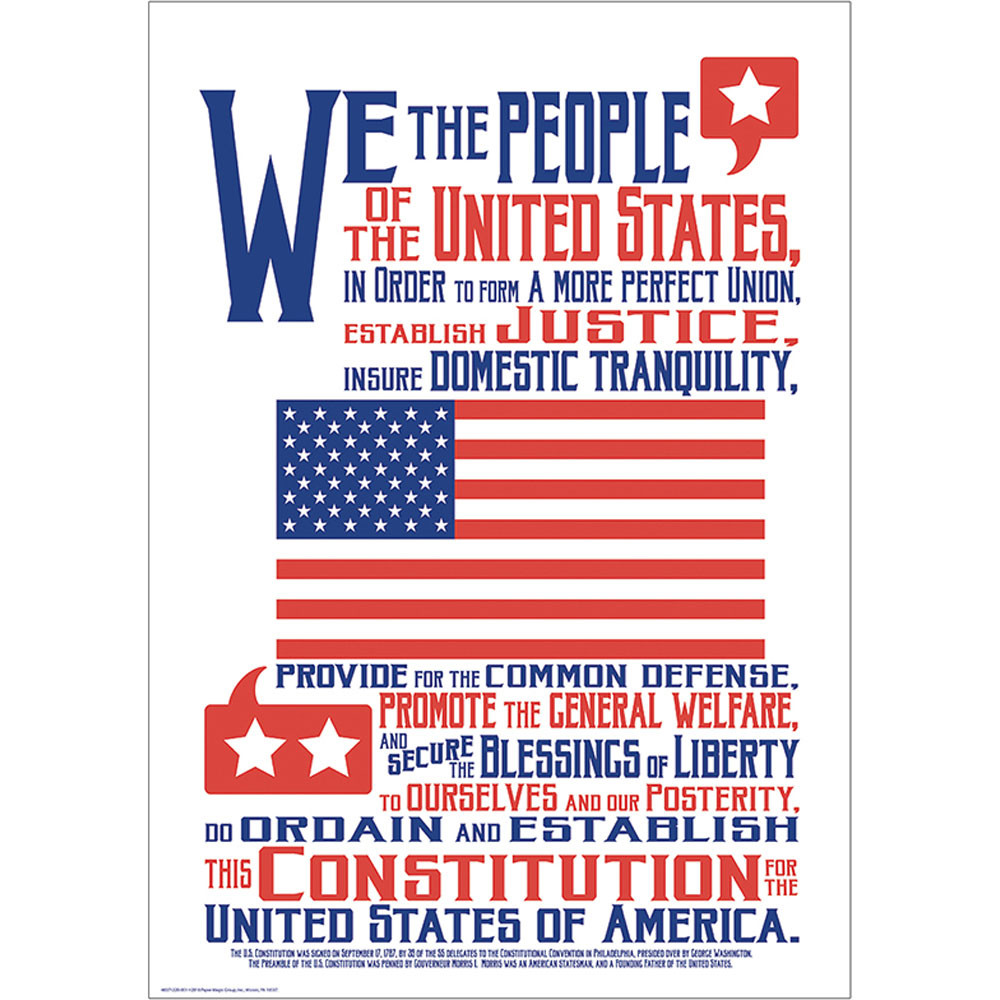 EU-837122 - Constitution 13X19 Posters in Social Studies