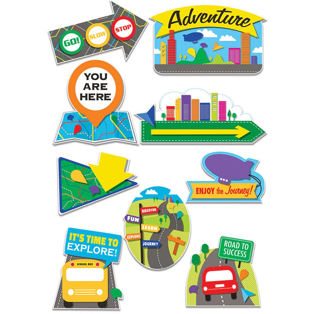Learning Adventure Two Sided Deco Kit Eu 840221 Eureka