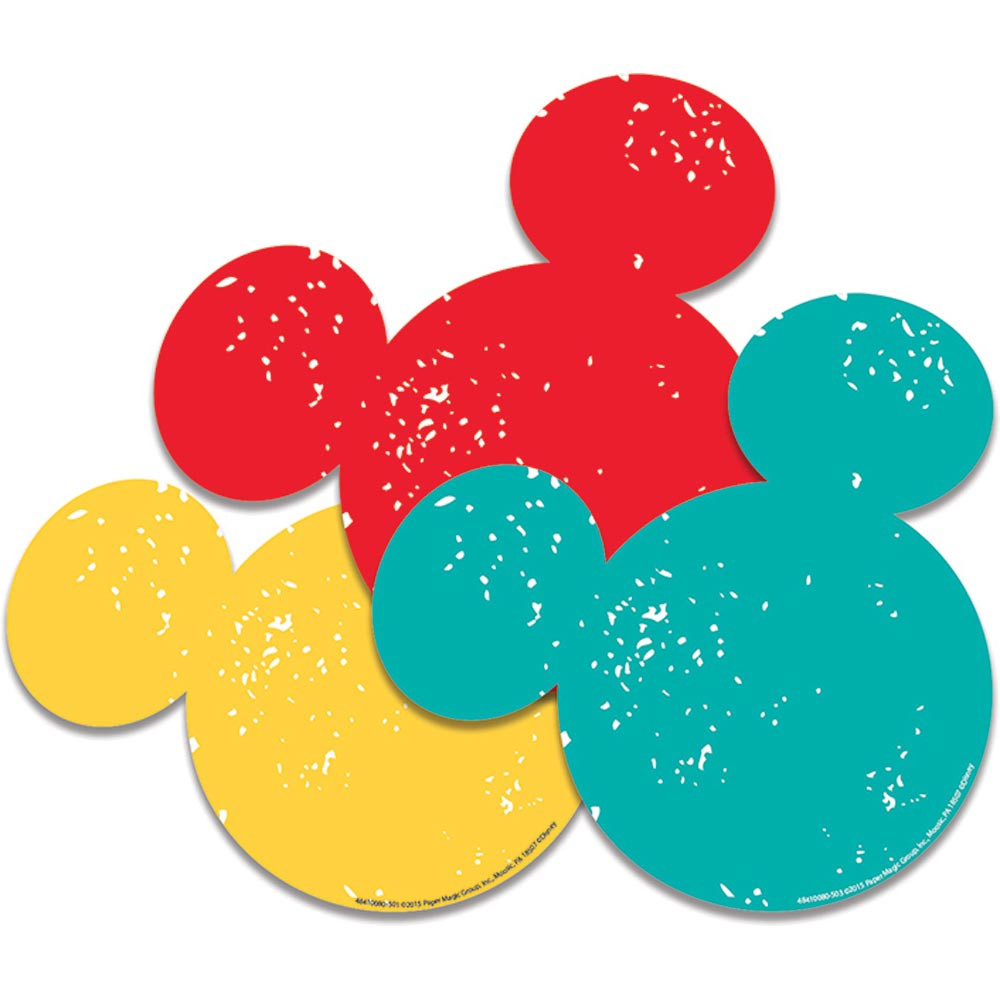 EU-841008 - Mickey Mouse Paper Cut Outs in Accents