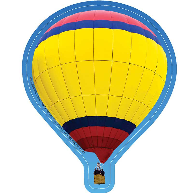 EU-841205 - Hot Air Balloons Paper Cut Outs in Accents