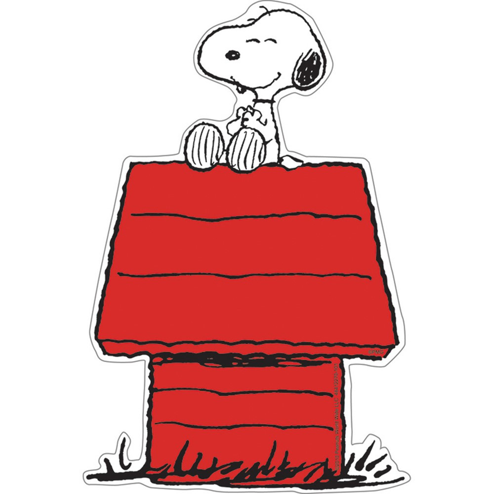 EU-841227 - Snoopy On Dog House Accents in Accents