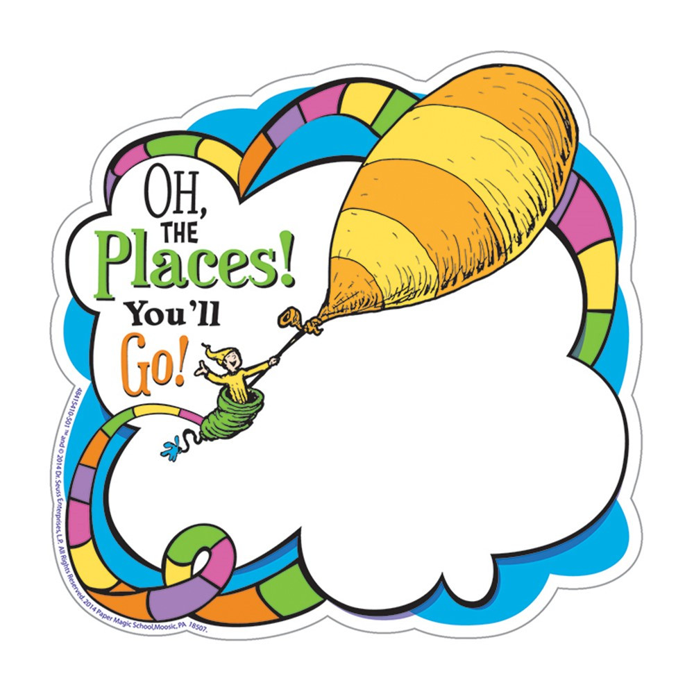 Dr Seuss Oh The Places Paper Cut Outs  Eu841541  Eureka. Personal Business Plan Template. Excel Travel Itinerary Template. Artistic Happy Birthday Images. Thank You Poster. Prescription Template Microsoft Word. High School Graduation Party Themes. Realtor Business Cards. Marketing Plan Template Pdf
