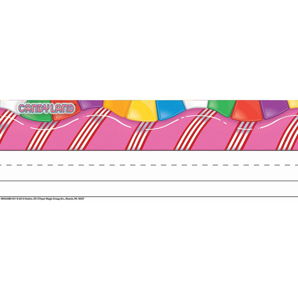 EU-843508 - Candy Land Tented Name Plates in Name Plates