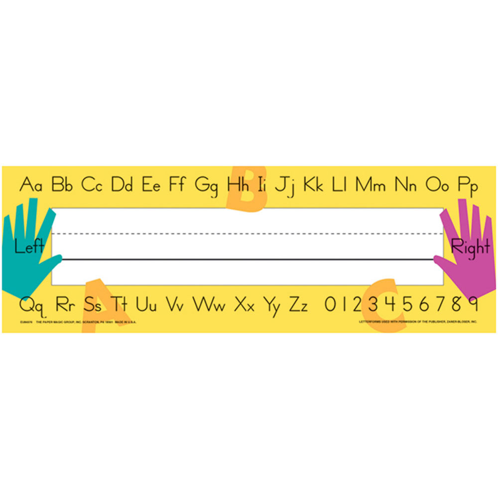 EU-843760 - Name Plates Teachers Tools in Name Plates