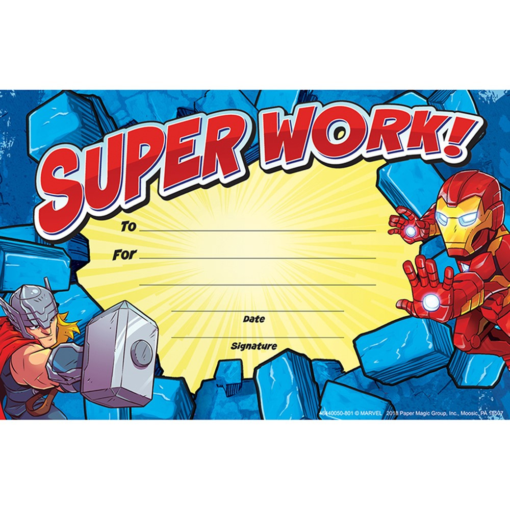 EU-844005 - Marvel Super Hero Adventure Recognition Awards in Awards
