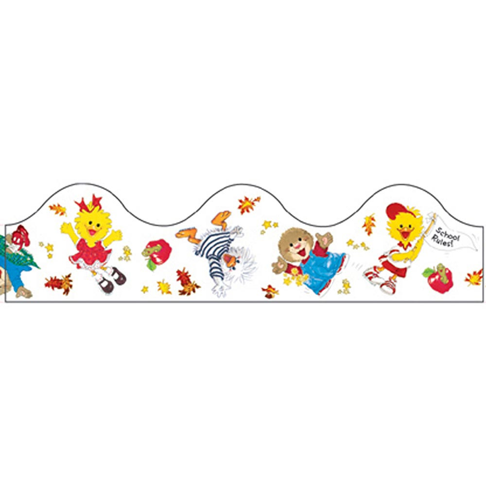 EU-84500 - Deco Trim Suzys Zoo Back To School 37 Inches Long Each in Border/trimmer