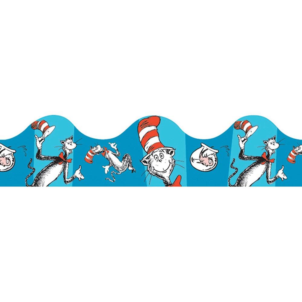 EU-845017 - Cat In The Hat Blue Deco Trim in Border/trimmer
