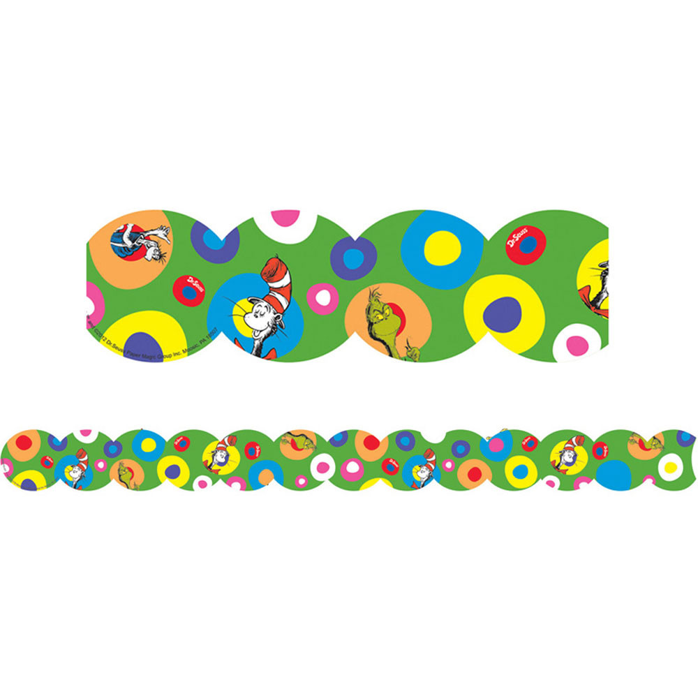 EU-845077 - Dr Seuss Extra Wide Die Cut Deco Trim in Holiday/seasonal