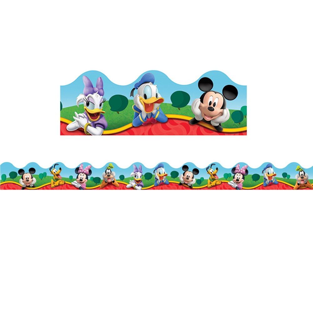 Mickey mouse clubhouse wallpaper border