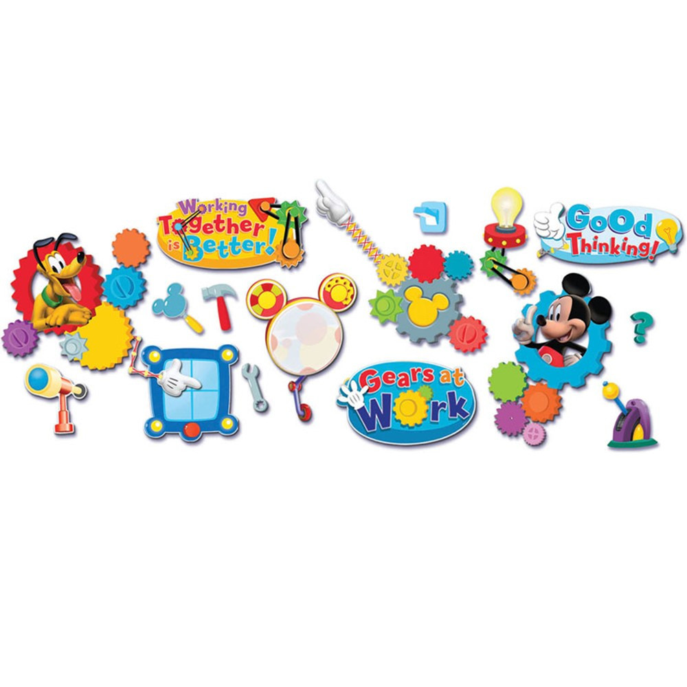 EU-847008 - Mickey Mouse Clubhouse Working Together Is Better Bbs in Classroom Theme